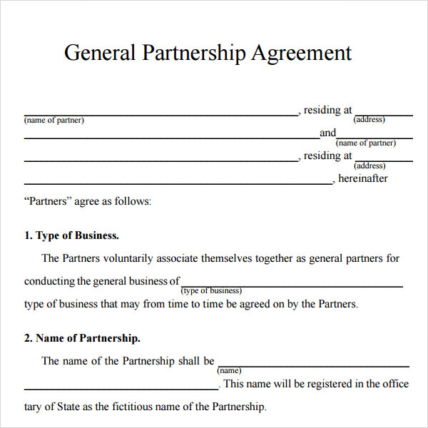 partnership agreement between two individuals - Canasbergdorfbib