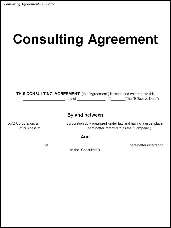 Free Consulting Agreement Template gtld world congress