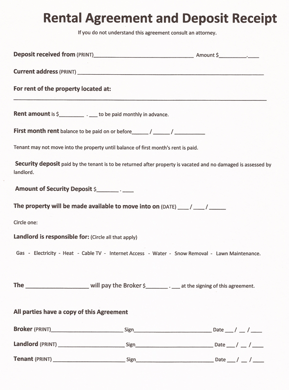 Free Printable Renters Agreement gtld world congress - property lease agreement template free