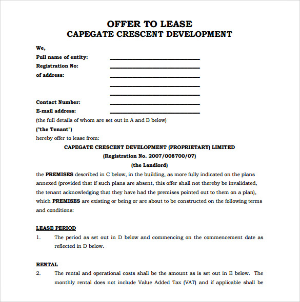 Office Lease Agreement gtld world congress - sample office lease agreement template
