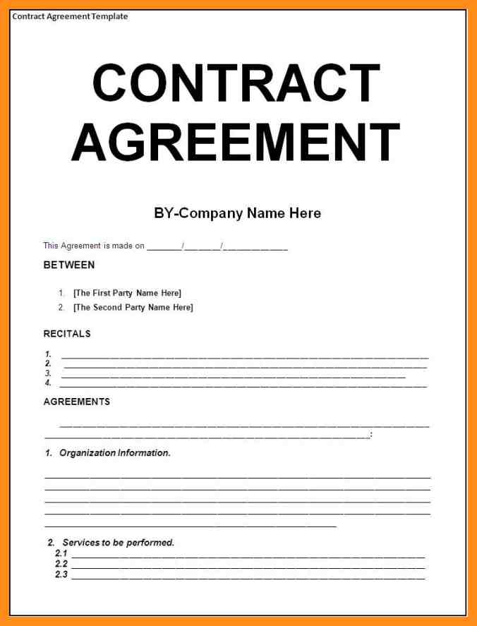 Service Agreement Between Two Parties gtld world congress