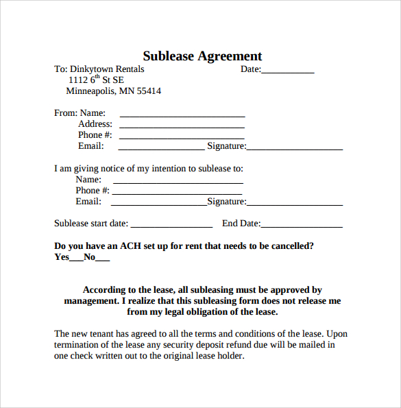 Missouri Lease Agreement Template Or Sample Lease Agreementfree