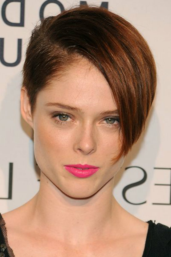 Cute Tomboy Wallpaper Coco Rocha S Cool Hairstyles For Women With Thick Hair
