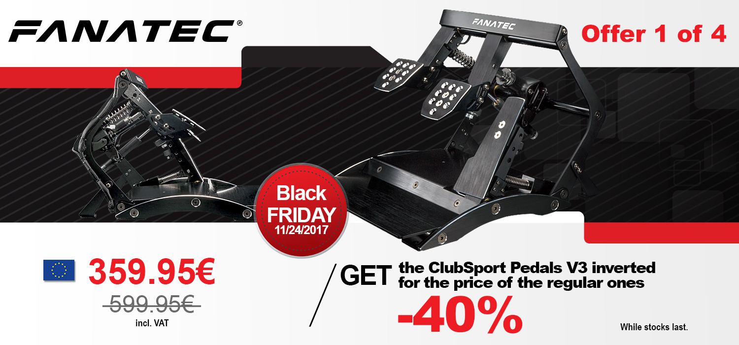 Black Friday Angebot Fanatec S Black Friday Cyber Monday 2017 Deals