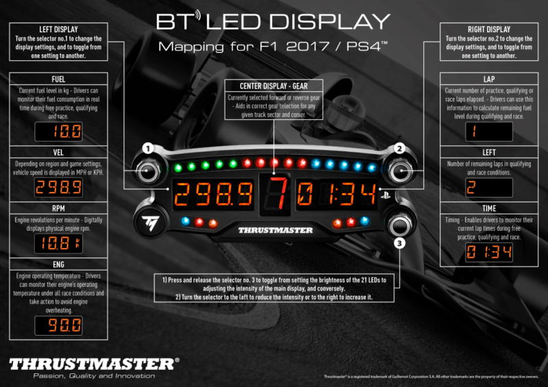 Bad Pc Setup Thrustmaster Bt Led Display Review
