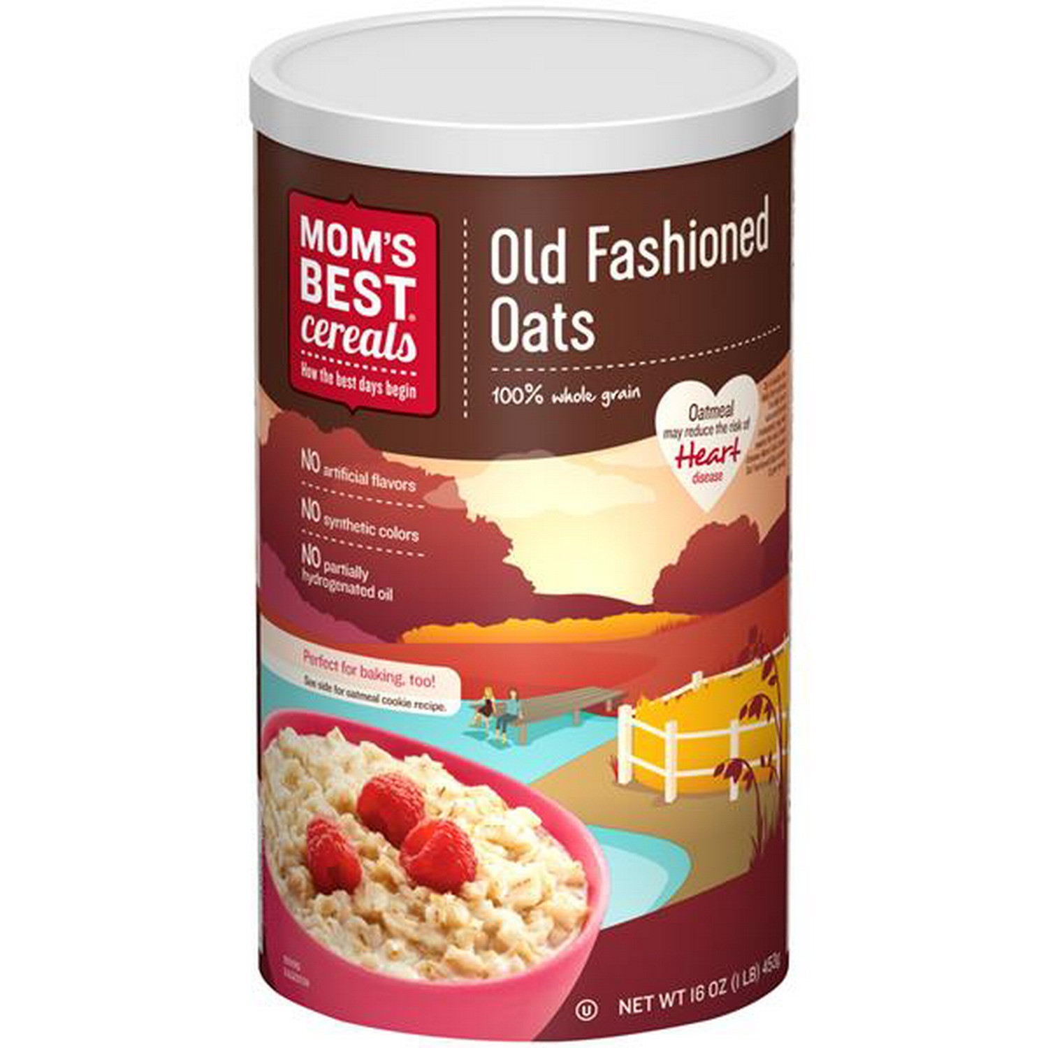 Moms Best Mom S Best Cereals Old Fashioned Oats 16oz Gtplaza Inc