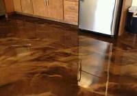 EPOXY METALLIC FLOOR - Epoxy flooring paint system