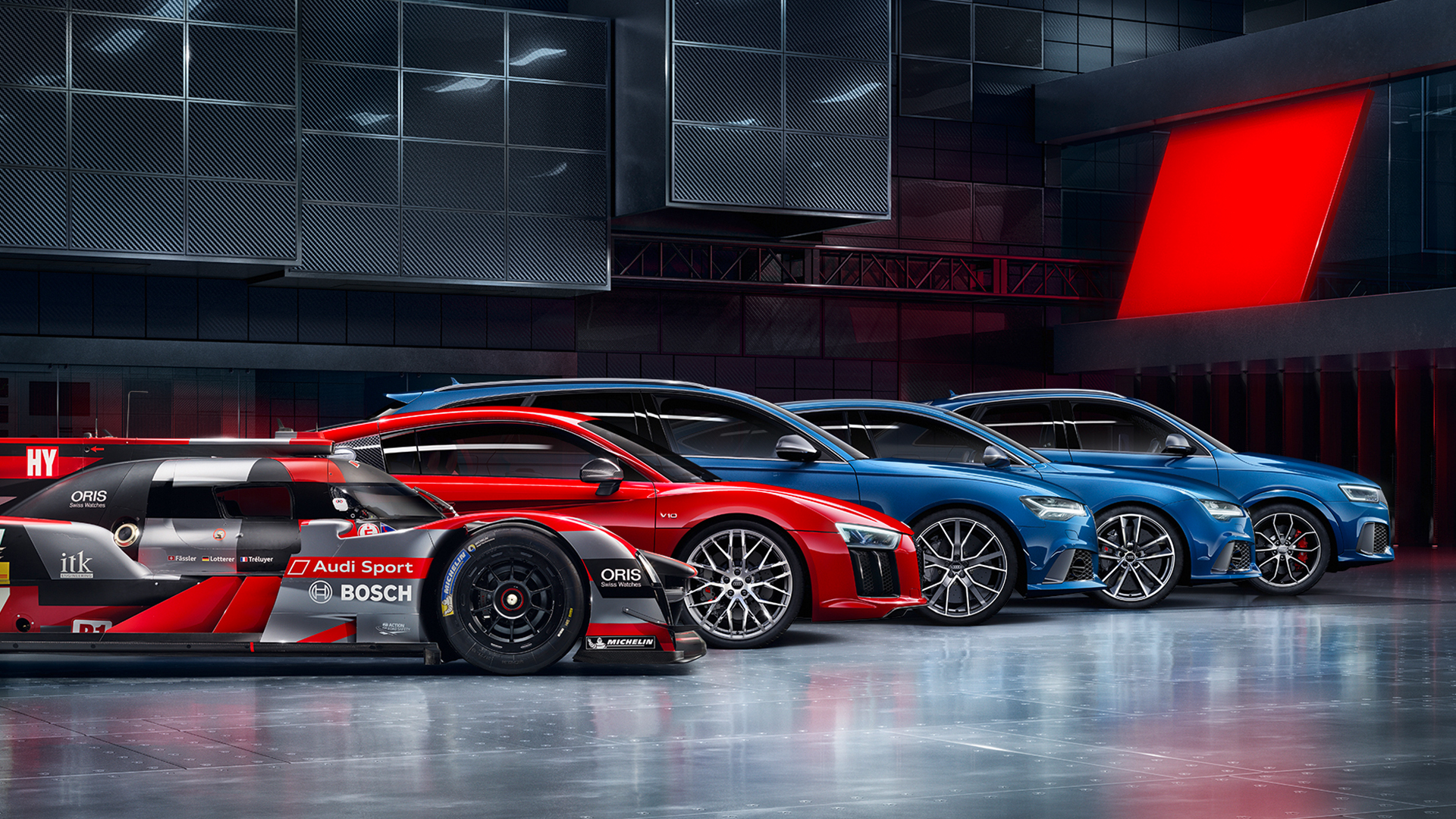 Audi Car Logo Wallpapers Audi Is Expected To Introduce 8 More Rs Examples By 2018