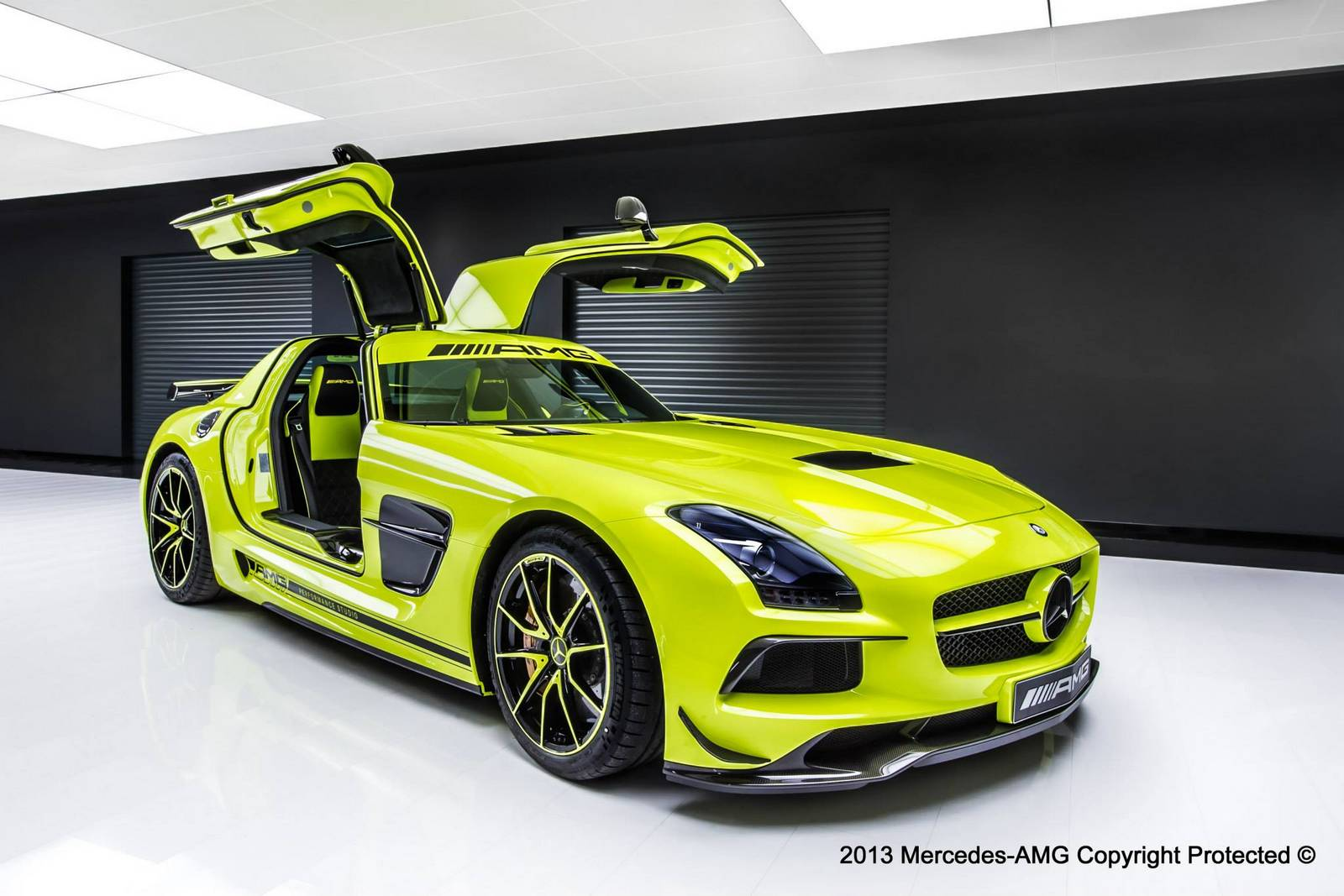 Mercedes - Benz Sls Amg Official Mercedes Benz Sls Amg Black Series By Amg