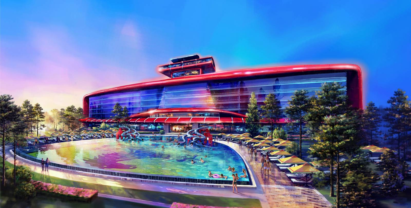 Port Aventura Acces Ferrari Land To Be Built In Barcelona Spain In 2016