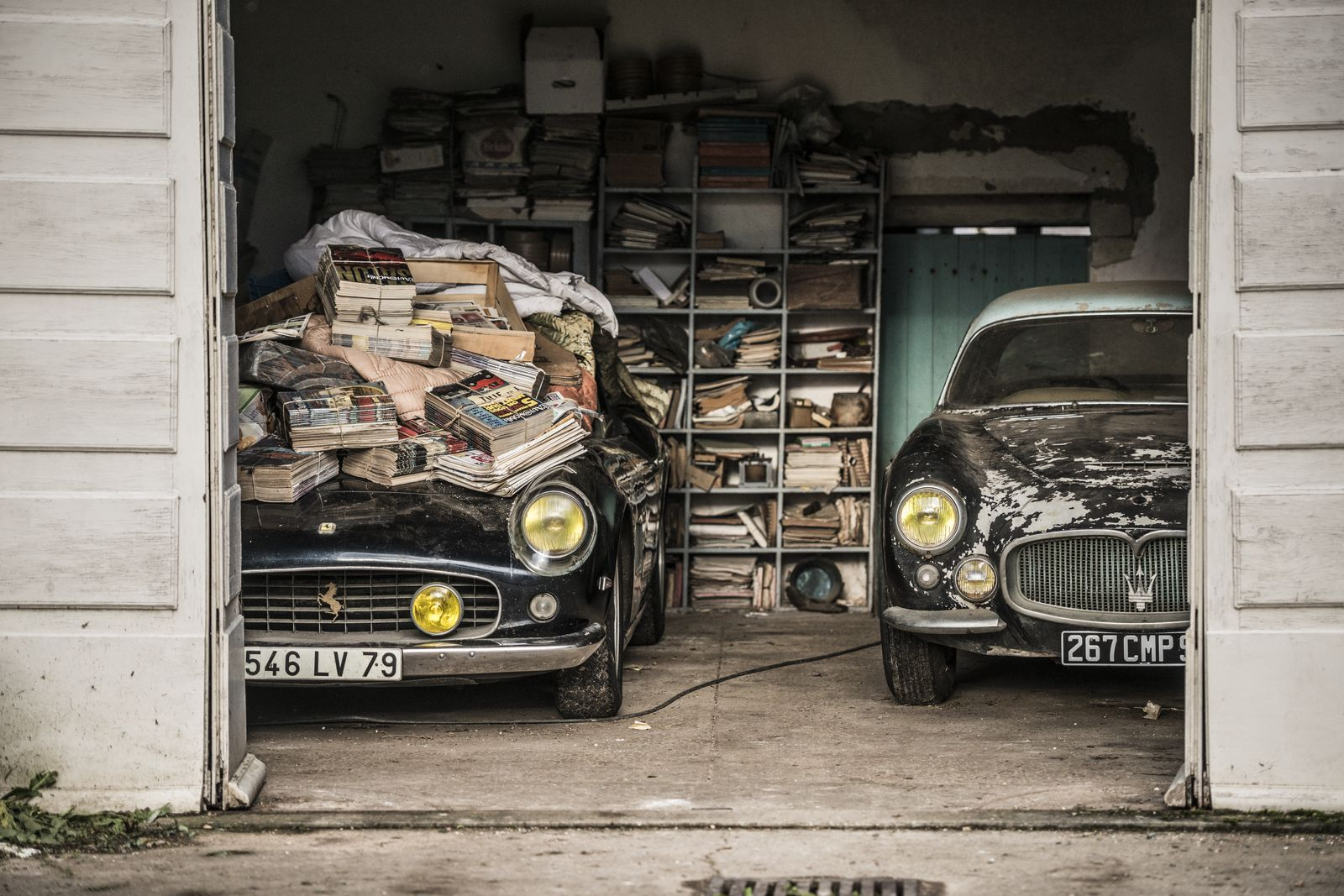 Garage Renault Blain Artcurial To Auction 60 Barn Find Classics From Forgotten Baillon