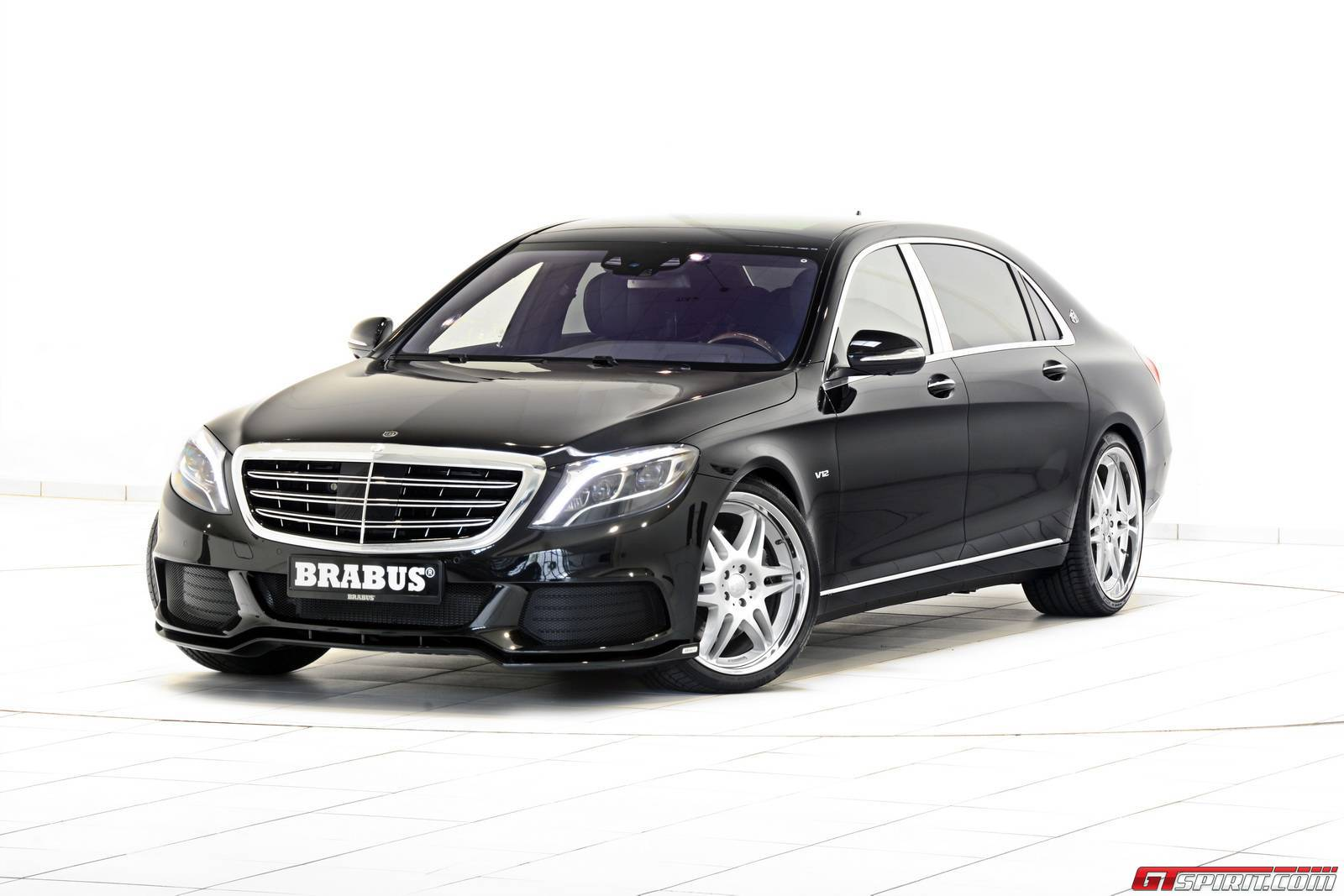Mercedes Maybach Official 900hp Mercedes Maybach S600 By Brabus Gtspirit