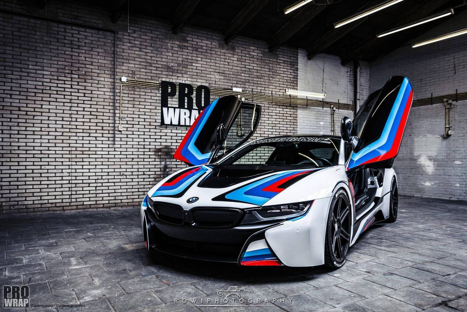 Audi R8 Cars Wallpapers Hd Custom Wrapped Bmw I8 By Prowrap In The Netherlands Gtspirit