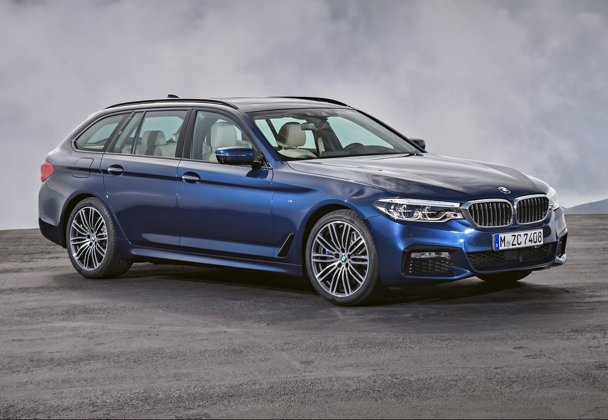 Bmw 5 Series Touring Xdrive Official 2018 Bmw 5 Series Touring Gtspirit