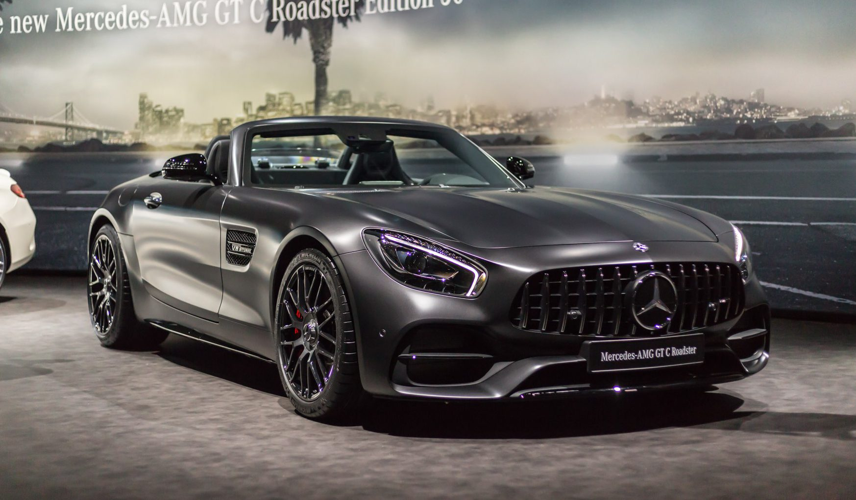 Mercedes Amg Gt C Roadster 2017 Geneva 2017 Mercedes Amg 50th Anniversary Editions Gtspirit
