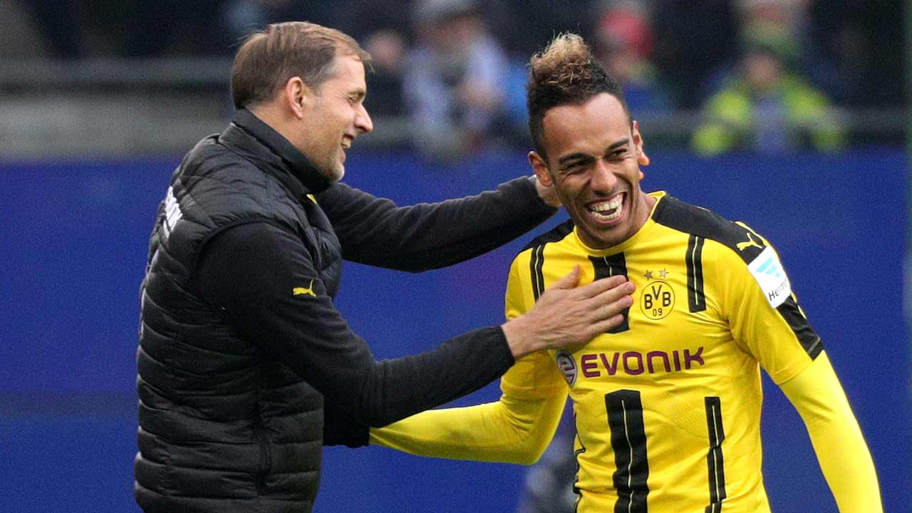Facebook Dortmund Hamburger Vs Borussia Dortmund Four Goal Aubameyang Redeemed For