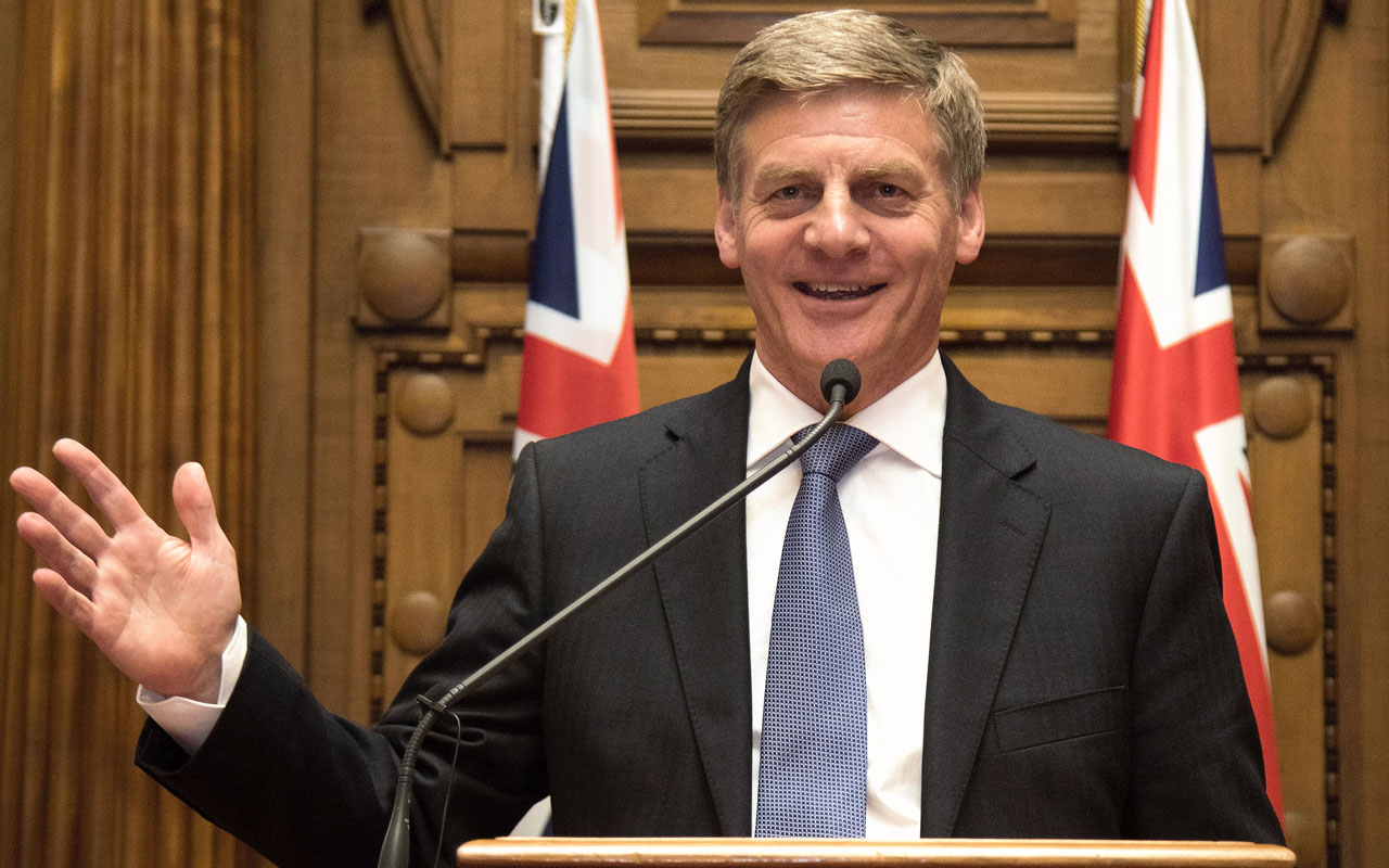 Bill English Sworn In As New Zealand Pm After Key Exit