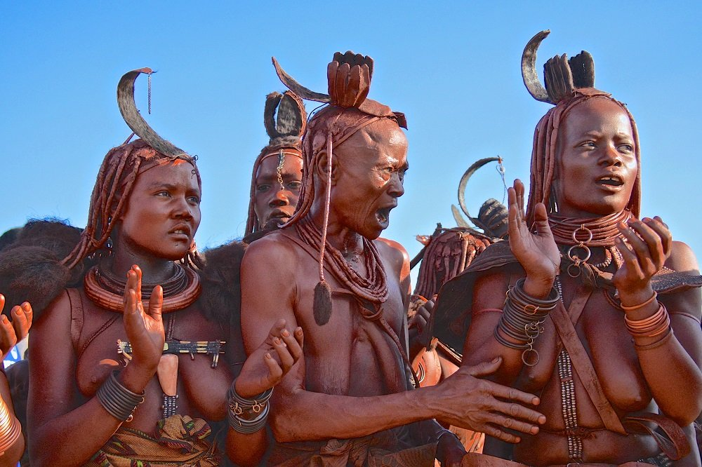 The Reason Why The Himba People In Namibia Dont Take