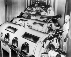 iron lung ward polio
