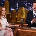 Jimmy Fallon Fan Gets Lindsay Lohan to Do Ice Bucket Challenge [Video]