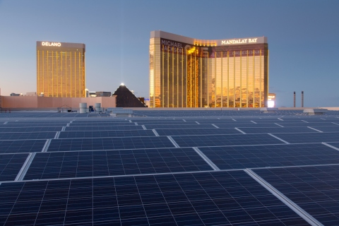 Las Vegas Casinos Think Solar a Sure Bet