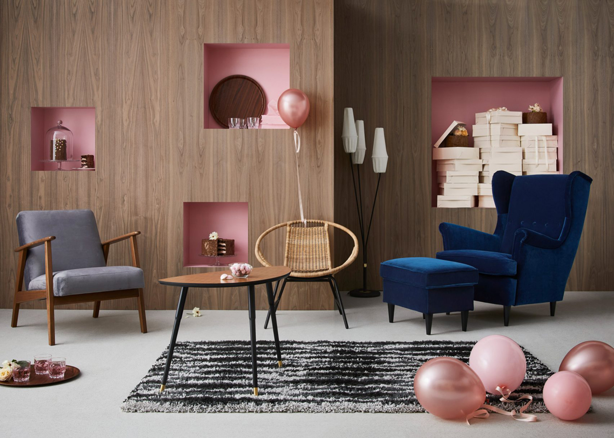 Sofas Ikea Lanzarote Ikea Celebrates 75th Anniversary With 3 Vintage Collections