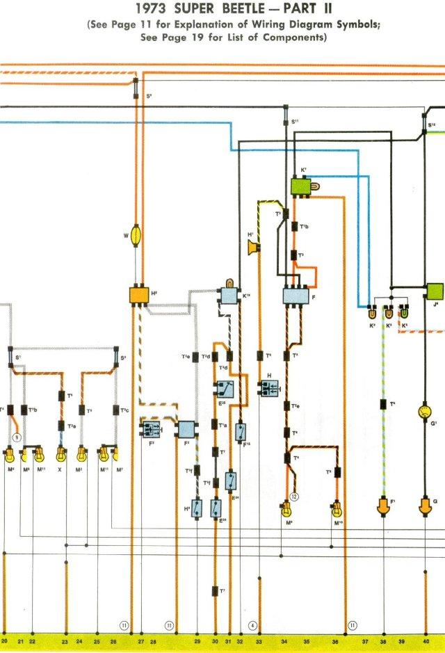 1973 beetle engine wiring diagram