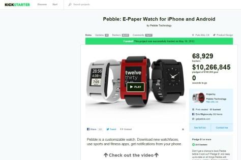 Pebble Smartwatch (Kickstarter)
