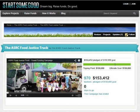 Food Justice Truck (Start Some Good)