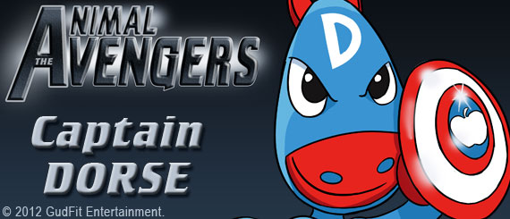 Animal Avengers - Captain Dorse