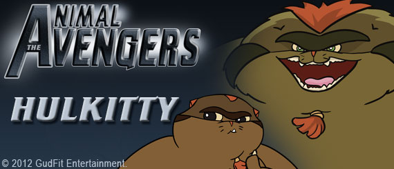 Animal Avengers - Hulkitty