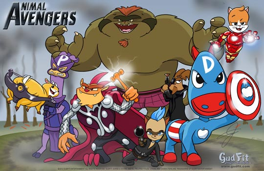 Animal Avengers - GudFit Entertainment