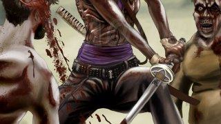 Michonne The Walking Dead: portrayed by Danai Gurira