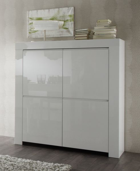Highboard Kommode Highboard Kommode Weiss Hochglanz Lack Italien Livorno3
