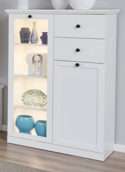 Landhaus Kommode Highboard Baxter In Weiß Landhaus Kommode 81 X 129 Cm