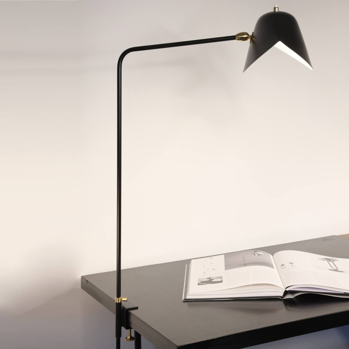 Desk Lamp Serge Mouille Agrafee Desk Lamp Mde Ag
