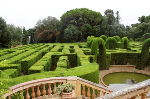 Parc de Laberint d'Horta Barcelona