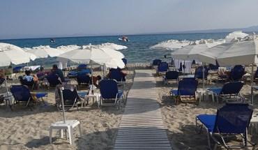 Pefkochori beach