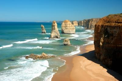 Australia coast line