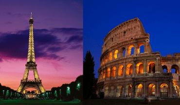 Paris vs Rome