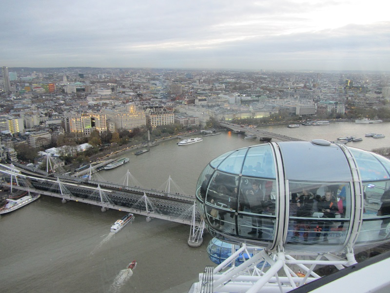 Top of the London Eye