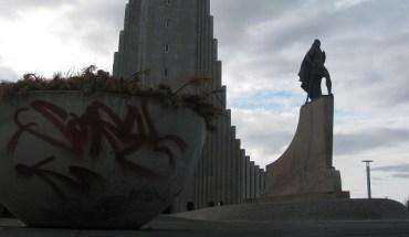 Graffiti in Reykjavik Iceland