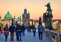 Walking Charles Bridge Prague