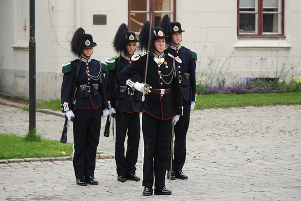 The Changing of the Guard in Oslo