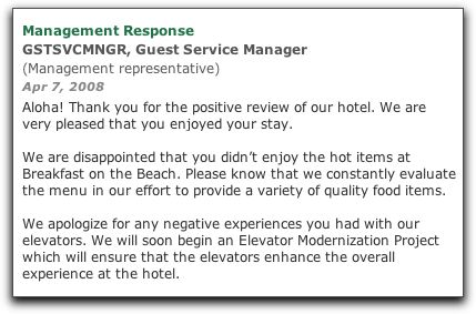 Hotel Complaint Letter Sample Response Letter To Hotel Guest