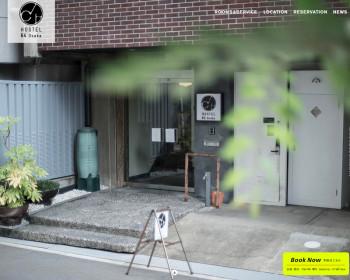 Hostel 64 Osaka webサイト