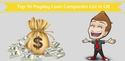 (Updated) Top 10 Payday Loan Companies List in UK - 2018