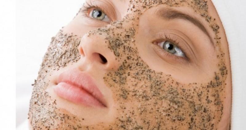 esfoliante para o rosto