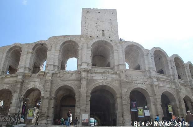 Anfiteatro de Arles: hotéis nessa região e onde ficar em Arles
