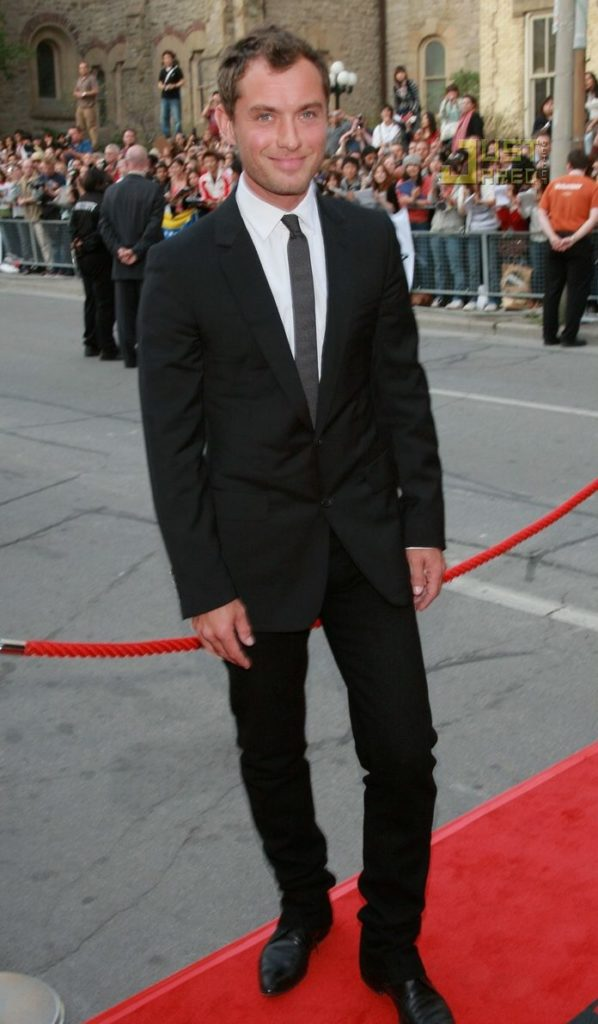 Jude Law red carpet